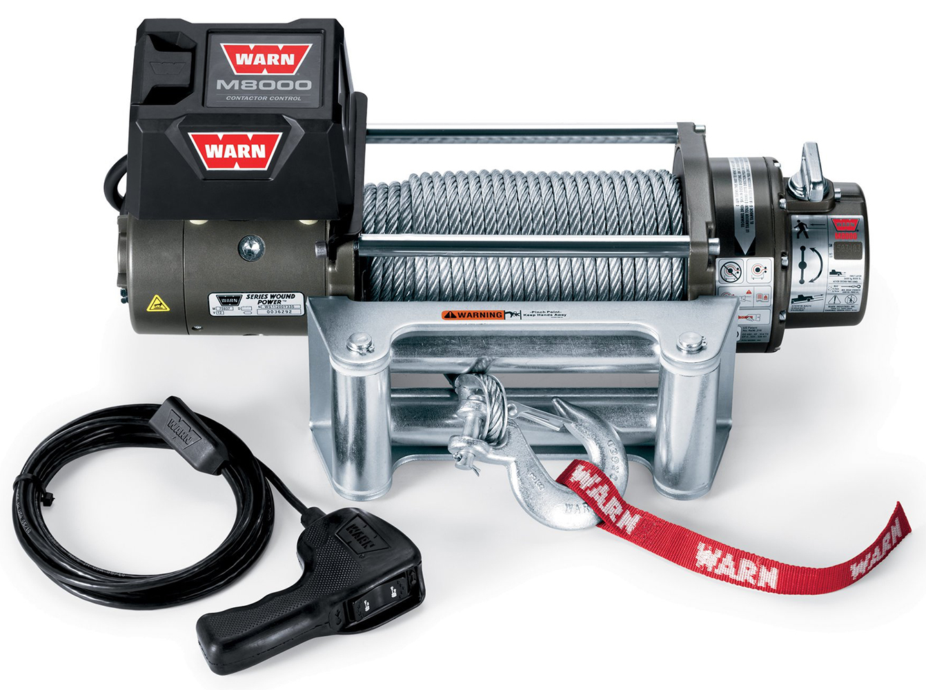 4 Ton Winch 8000 Lb Winches Free Shipping Llc Atv Products Warn Remote Control M8000