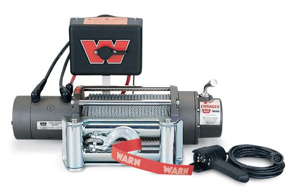 WARN M6000 SDP Short Drum Portable Winch