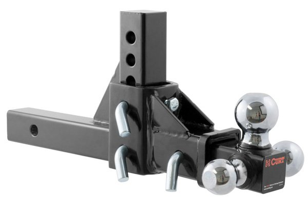 Adjustable Hitch Receiver >> Curt Adjustable Multi Ball Mount