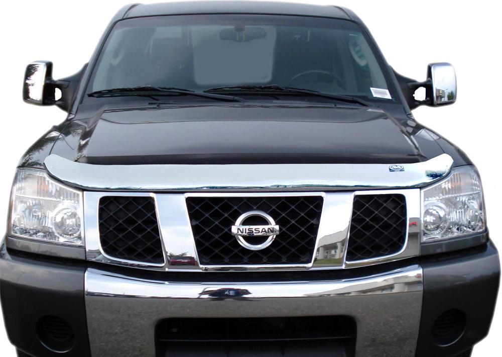 Toyota Sienna Interior >> AutoVentshade Chrome Hood Shield - AVS Chrome Bug Deflector