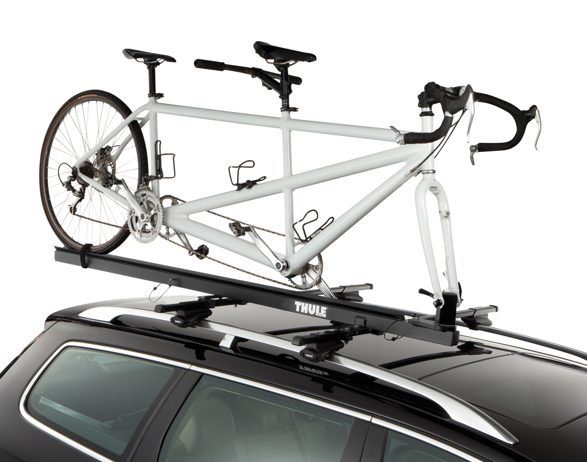 Thule 558p Tandem Bike Rack Roof Mount Bike Carrier