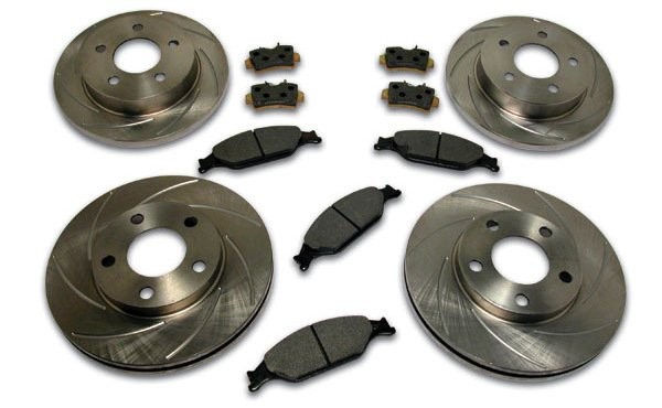 SSBC Short Stop Slotted Rotor Kit