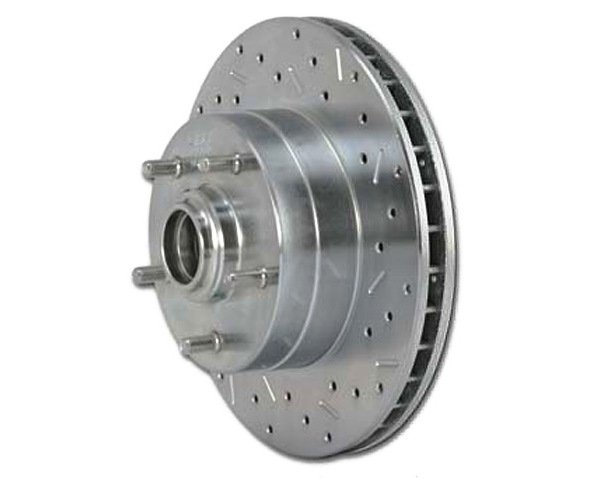 SSBC Big Bite Cross Drilled Rotor