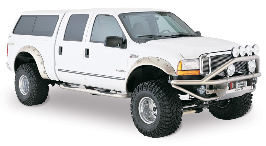 Bushwacker Cut Out Flares Bushwacker Cut Out Fender Flares