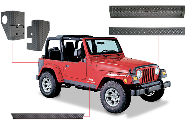 Bushwacker Trail Armor Jeep Body Kit