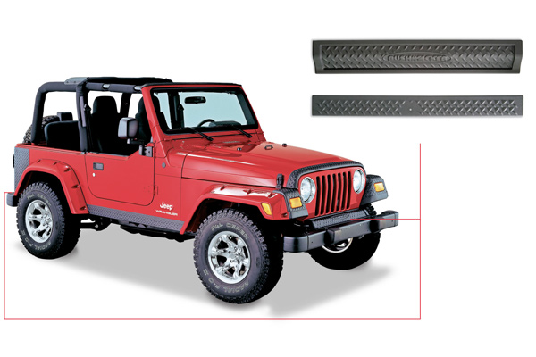 Bushwacker Trail Armor Front & Rear Accent Panels