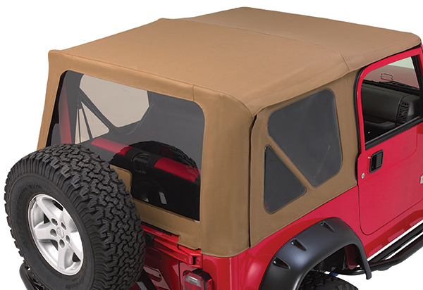 Rampage Complete Replacement Soft Top Kit