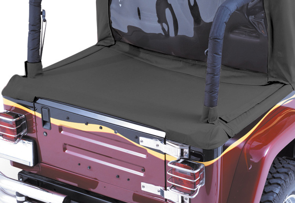 Rampage Jeep Tonneau Cover