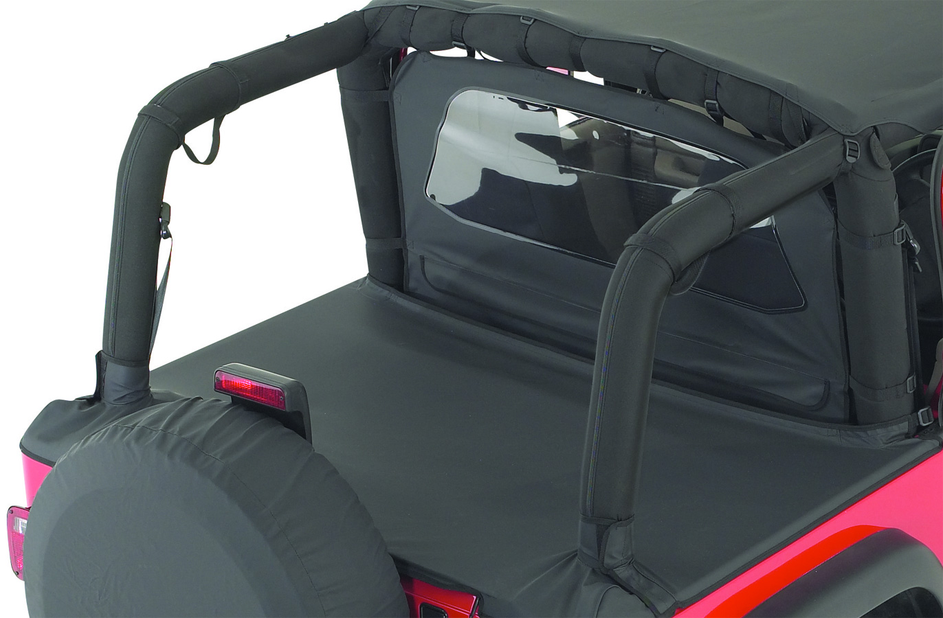 1987 1991 Jeep Wrangler Rampage Roll Bar Cover Kit