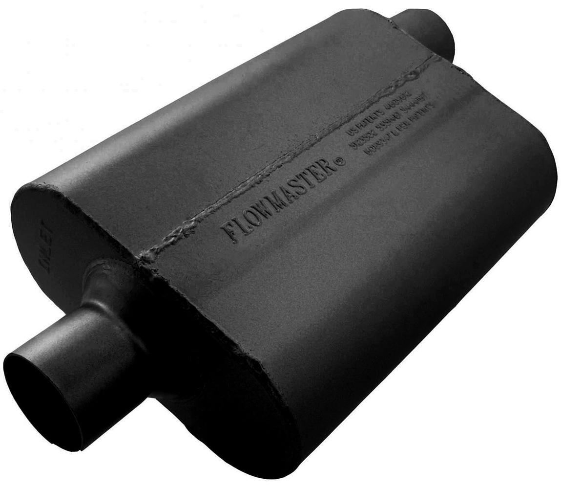 Flowmaster 40 series muffler for Garage ford lens
