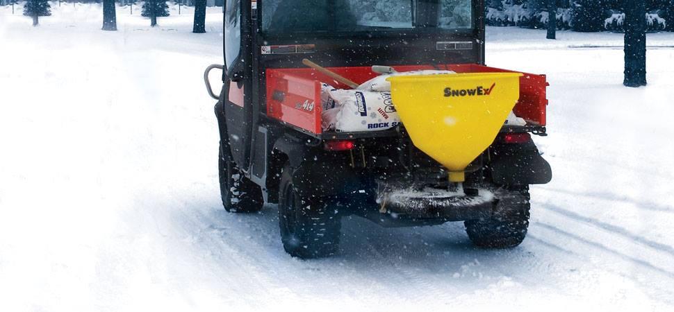 Tailgate Salt Spreader >> SnowEx Tailgate Spreader, Snow Ex Salt Spreader