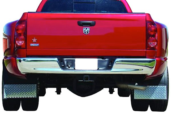 Go Industries Diamond Tread Mud Flaps