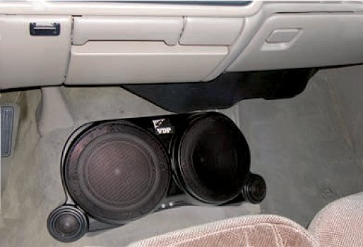Vdp Jeep Center Speaker System Vertically Driven Products