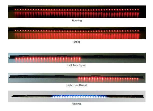 Ipcw led tailgate light bar mozeypictures Choice Image