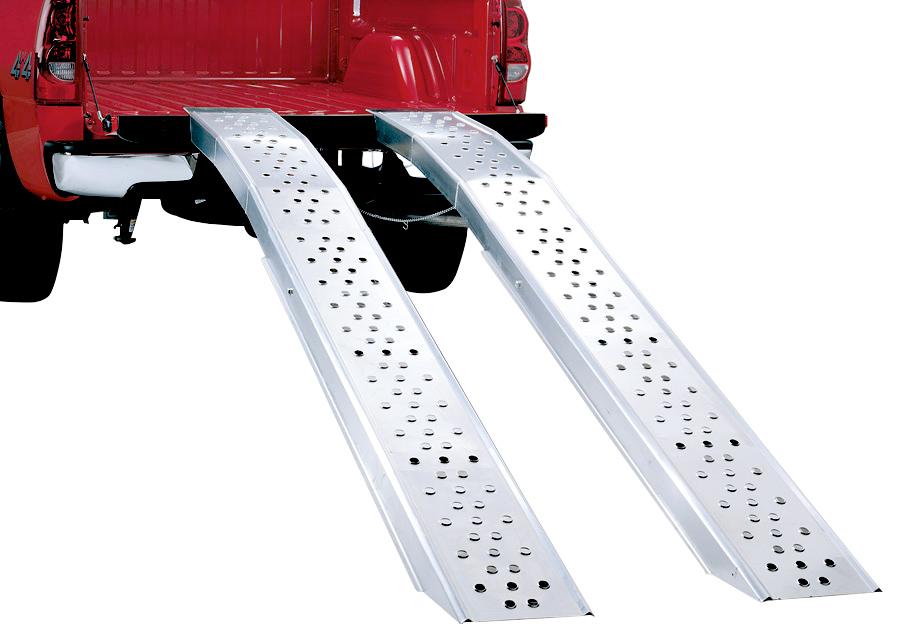 lund folding aluminum truck ramp - Aluminum Ramps