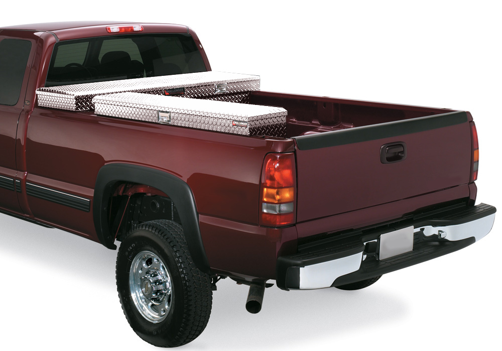 Toyota Truck Performance Parts Home > Truck Toolboxes > Side Mount Toolboxes > Deflecta-Shield ...