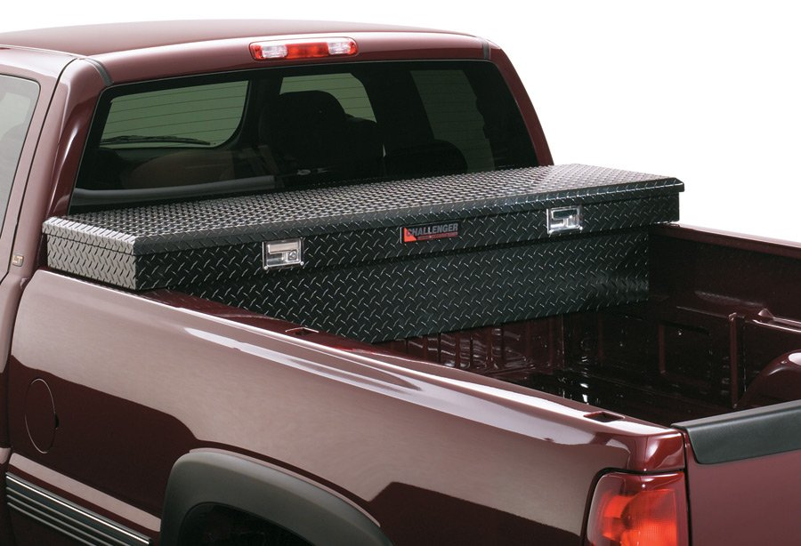 Deflecta Shield Challenger Single Lid Deep Truck Toolbox