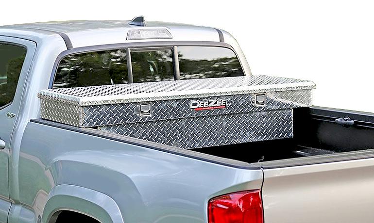 Dee Zee Truck Tool Box, Single Lid Crossover Truck Toolbox