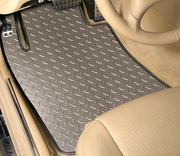 Intro Tech Diamond Plate Floor Mats Free Shipping
