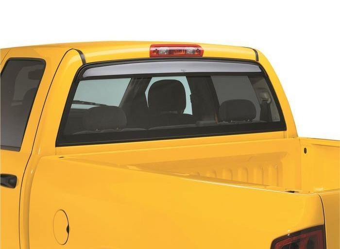 Auto Ventshade 93755 Sunflector Rear Window Deflector Dark Smoke for 2009-2018 Dodge Ram 1500; 2019 Ram 1500 Classic