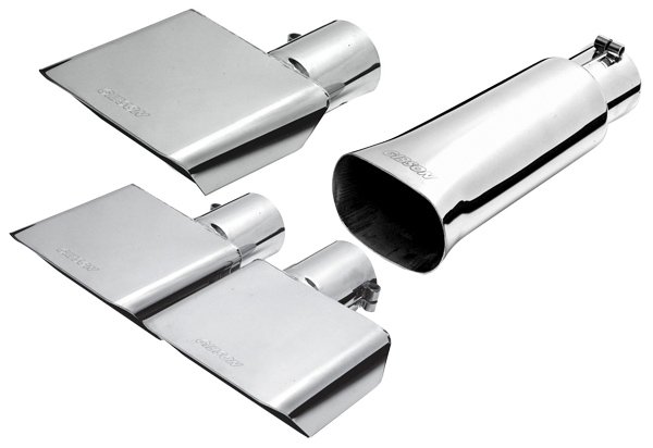 Ford Ranger Exhaust Tip >> Gibson Sport Exhaust Tip, Gibson Square Exhaust System Tips