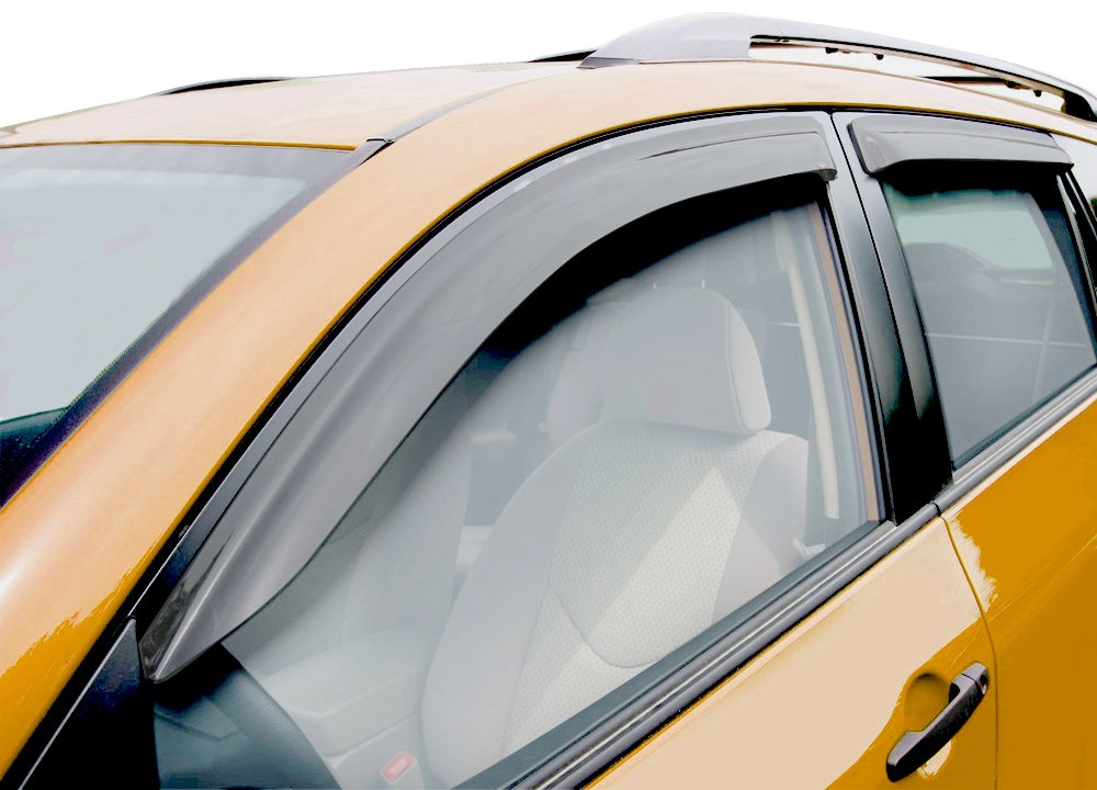 Window deflector for Window guards