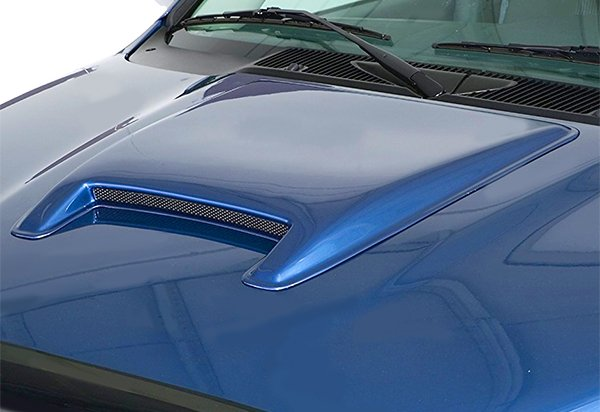 For Ram F150 F250 Silverado Sierra Universal ABS Paintable Hood Scoop