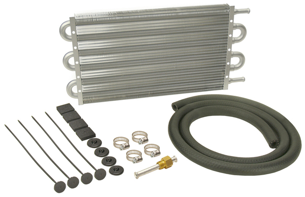 Derale Dyno-Cool Series 6000 Tube & Fin Transmission Cooler Kit