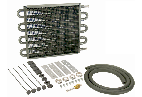 Derale Series 7000 Tube & Fin Transmission Cooler Kit