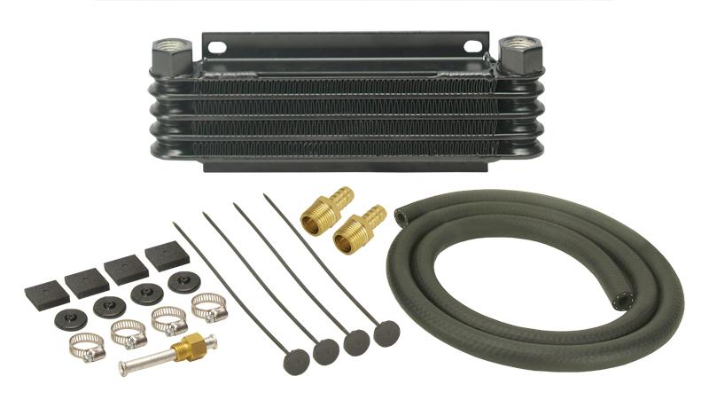 Derale Series 9000 Plate Amp Fin Transmission Cooler Kit