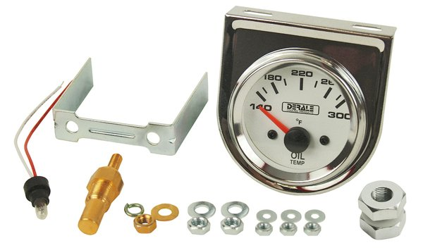 Derale Oil Temperature Gauge Kit