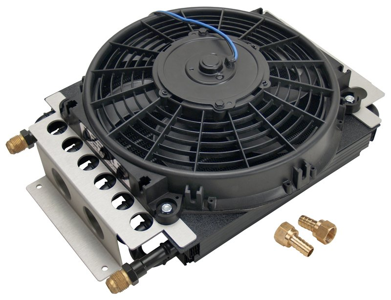 Transmission Oil Coolers And Cooler : Derale electra cool oil cooler transmission