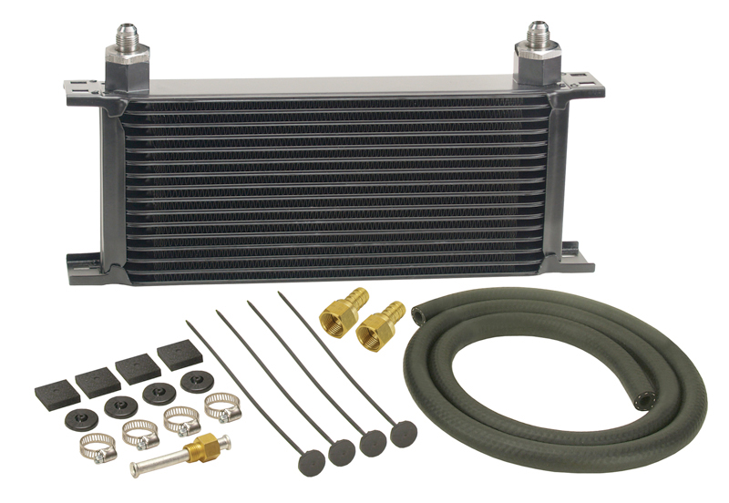 Derale Series 10000 Stacked Plate Transmission Cooler Kit