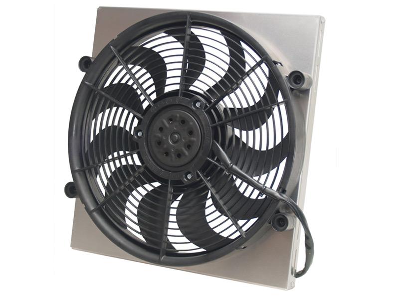 Derale 16816 Single High Output Rad Fan