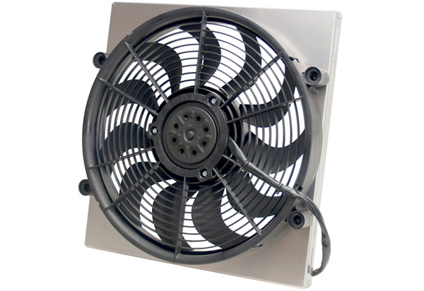 Derale Single High Output Electric Radiator Fan