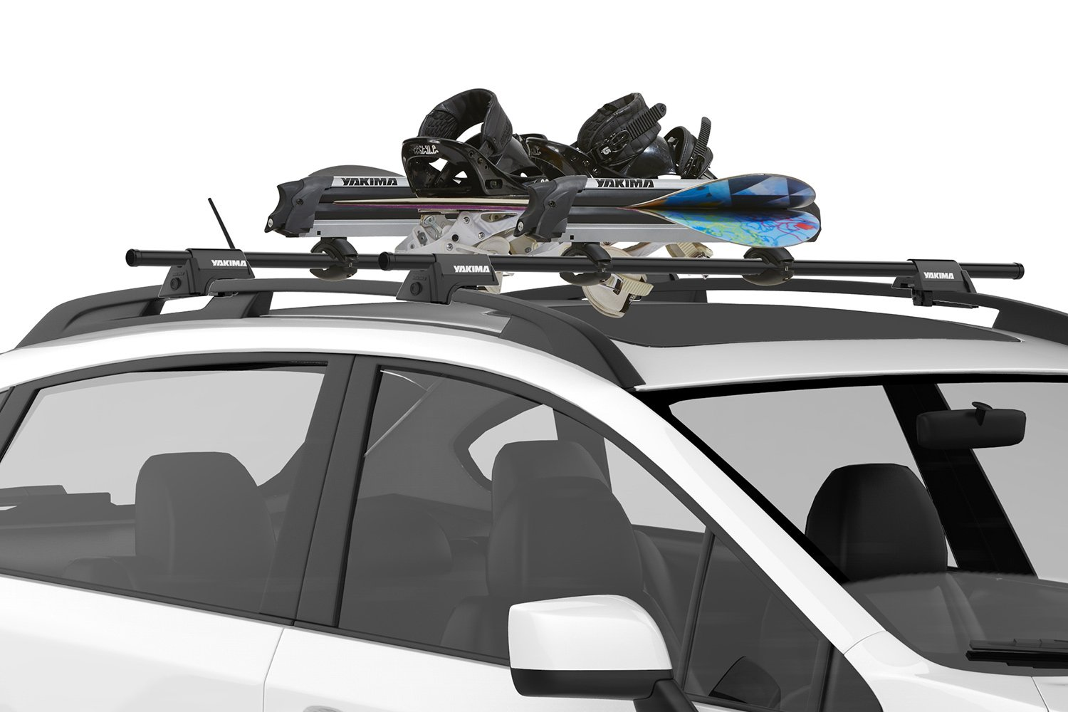 Yakima Ski Rack Yakima Big Powderhound Snoboard Amp Ski Rack