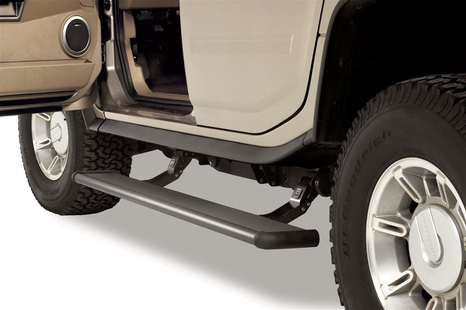Amp Research 75105 01a Powerstep Running Boards For F