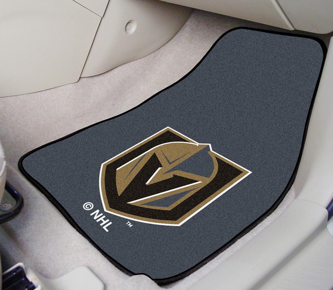 Toyota Sienna Floor Mats >> Fanmats NHL Carpet Floor Mats - Custom Hockey Team Logo ...