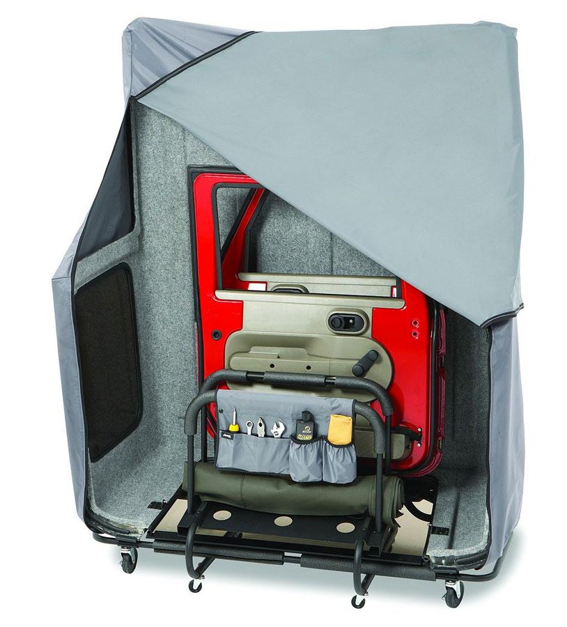 Jeep Wrangler Top Accessories: Bestop HOSS Hardtop Storage System, Bestop Jeep Hard Top