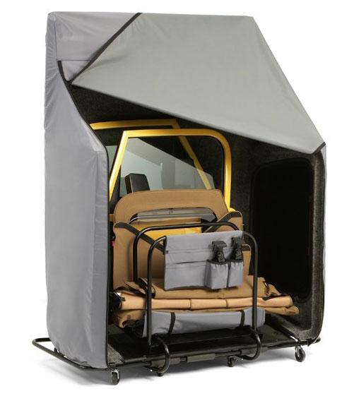 Bestop Hoss Hardtop Storage System Bestop Jeep Hard Top