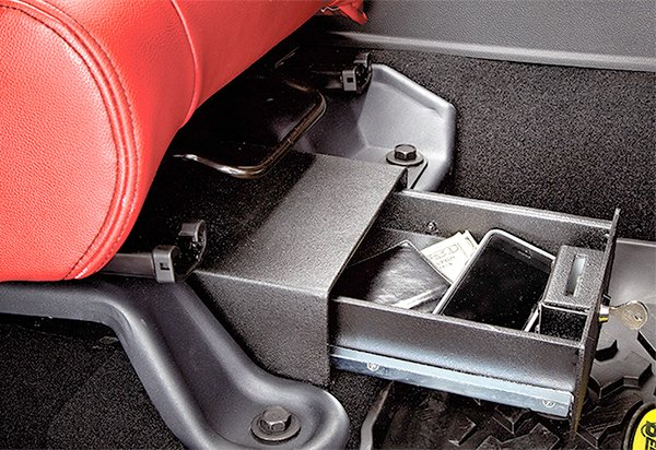 1996-2006 Jeep Wrangler Bestop Under Seat Locking Storage ...