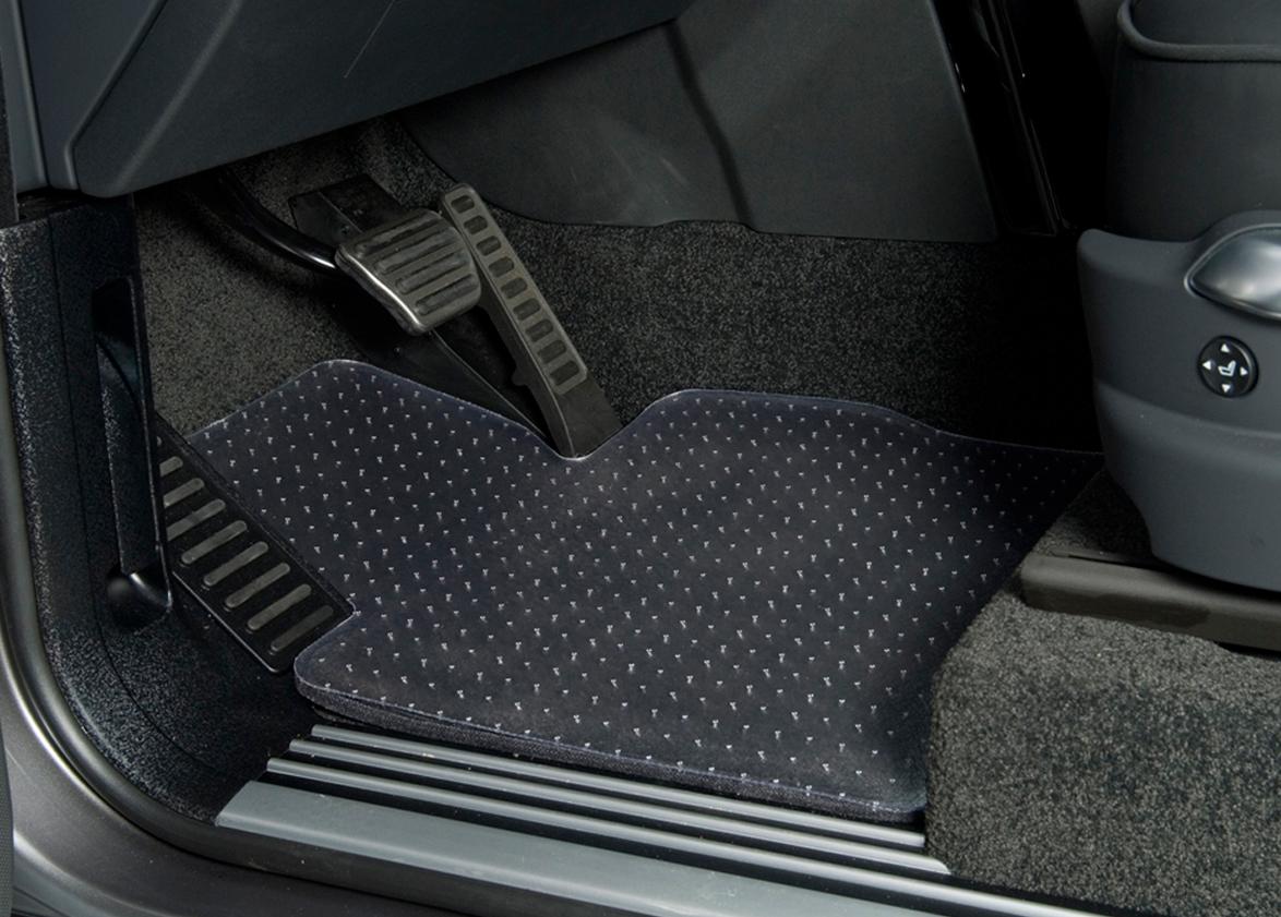 Floor mats silverado - Coverking Clear Vinyl Floor Mats