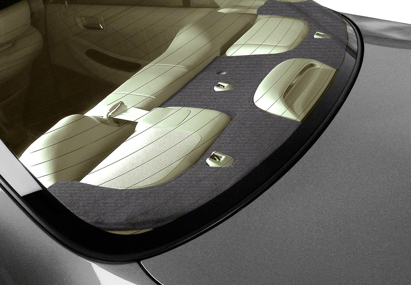 Coverking Velour Rear Deck Cover Coverking Rear Deck Mat