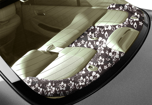Coverking Fashion Print Rear Deck Cover