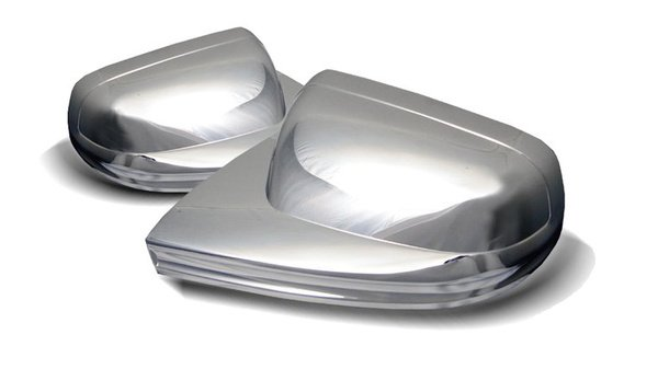 Spyder Chrome Mirror Covers