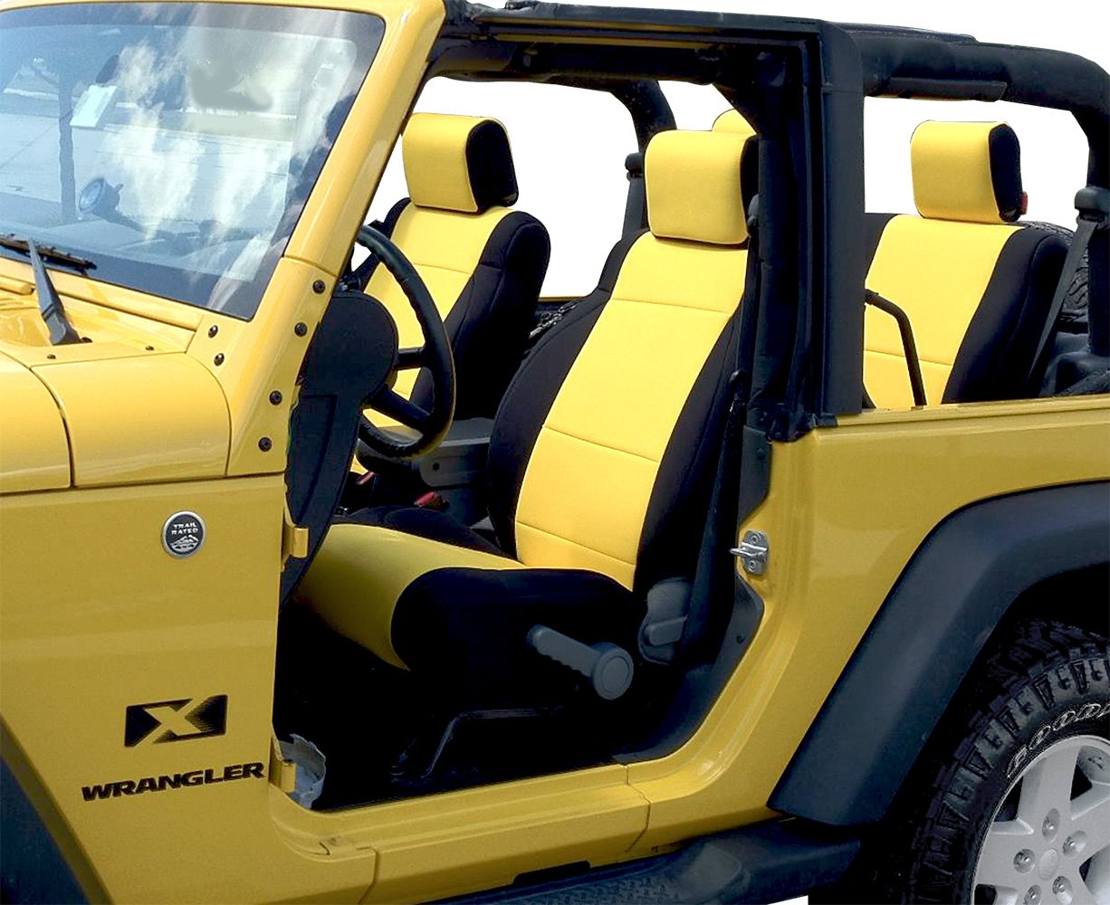Neoprene Jeep Seat Covers >> Coverking Neoprene Jeep Seat Covers - Free Shipping