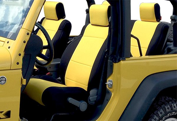 Jeep Seat Covers >> Coverking Neoprene Jeep Seat Covers