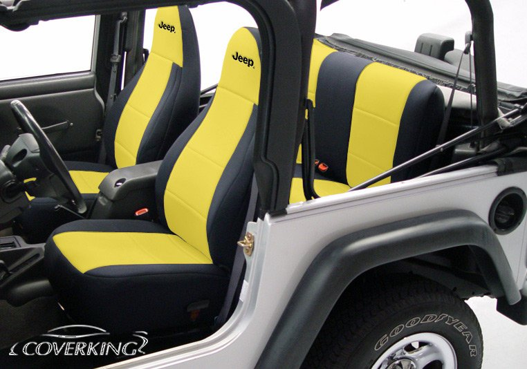 Jeep Seat Covers >> Coverking Neoprene Jeep Seat Covers Free Shipping