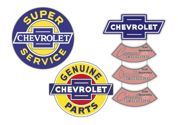 Chevrolet Vintage Sign by SignPast