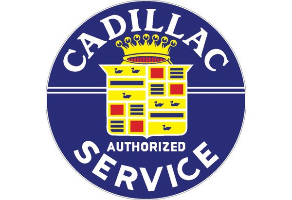 Cadillac Vintage Sign by SignPast - Free Shipping & Price ...